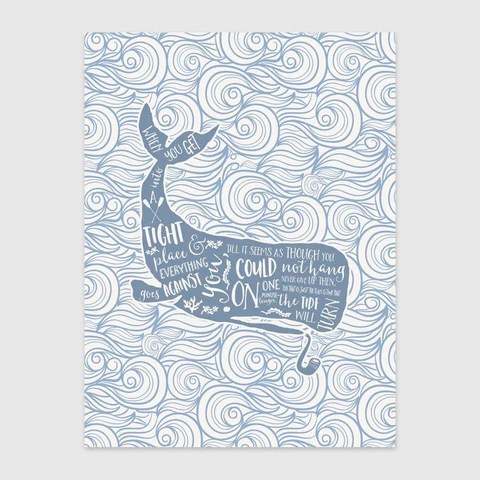 The Tide Will Turn Print by Baldy and the Fidget