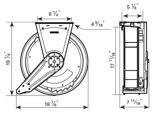 baldwin fuel filter specifications