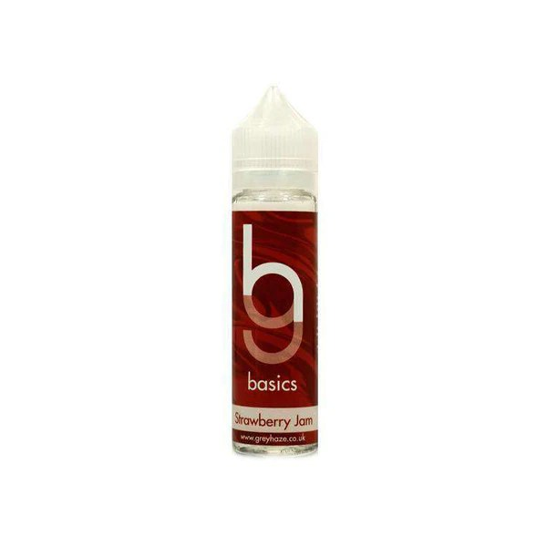 Grey Haze Basics - Strawberry Jam - 50ml Short Fill