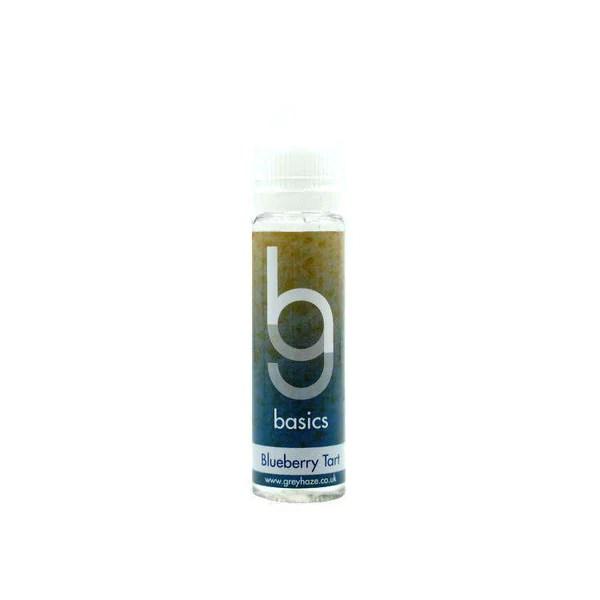 Grey Haze Basics - Blueberry Tart - 50ml Short Fill