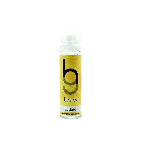 Grey Haze Basics - Custard - 50ml Short Fill