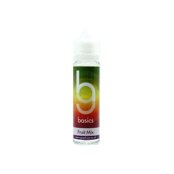 Grey Haze Basics - Fruit Mix - 50ml Short Fill