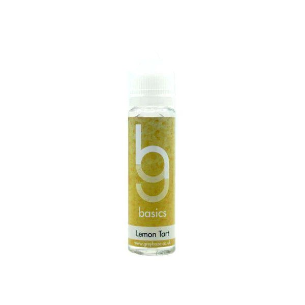 Grey Haze Basics - Lemon Tart - 50ml Short Fill