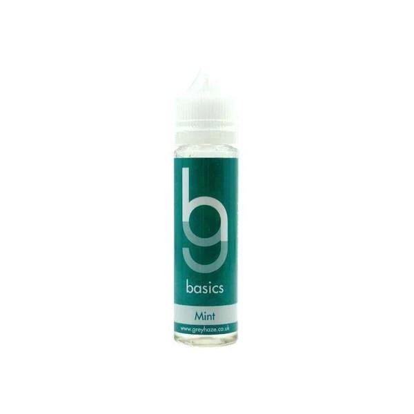 Grey Haze Basics - Mint - 50ml Short Fill