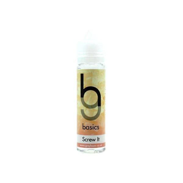 Grey Haze Basics - Screw It - 50ml Short Fill