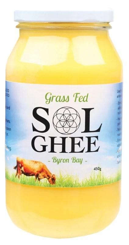 SOL Organics Grass Fed Ghee - 450g