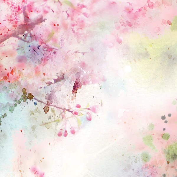 Cherry Blossom Photo Backdrop – PepperLu
