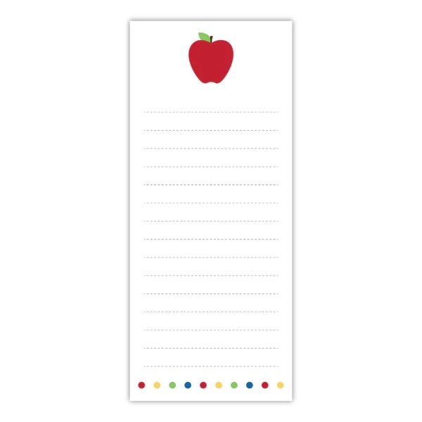 apple teacher notepad