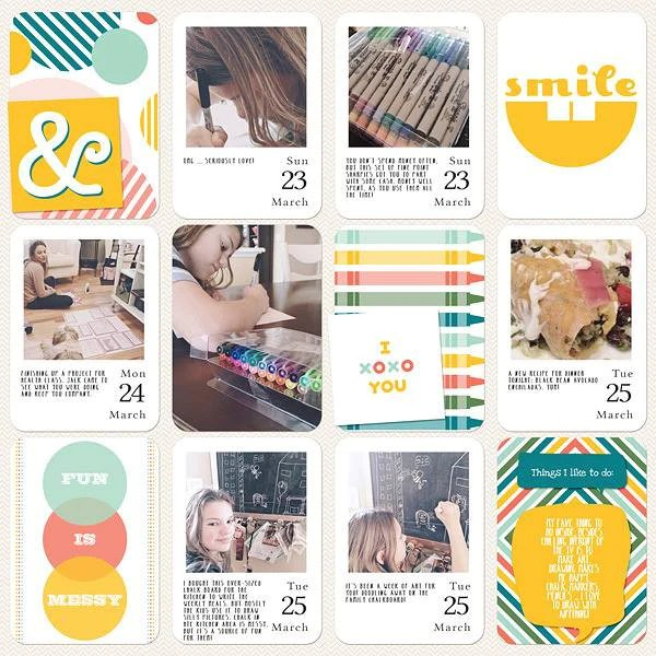 Digital Project Life by Jenn McCabe Stampin' Up Playground