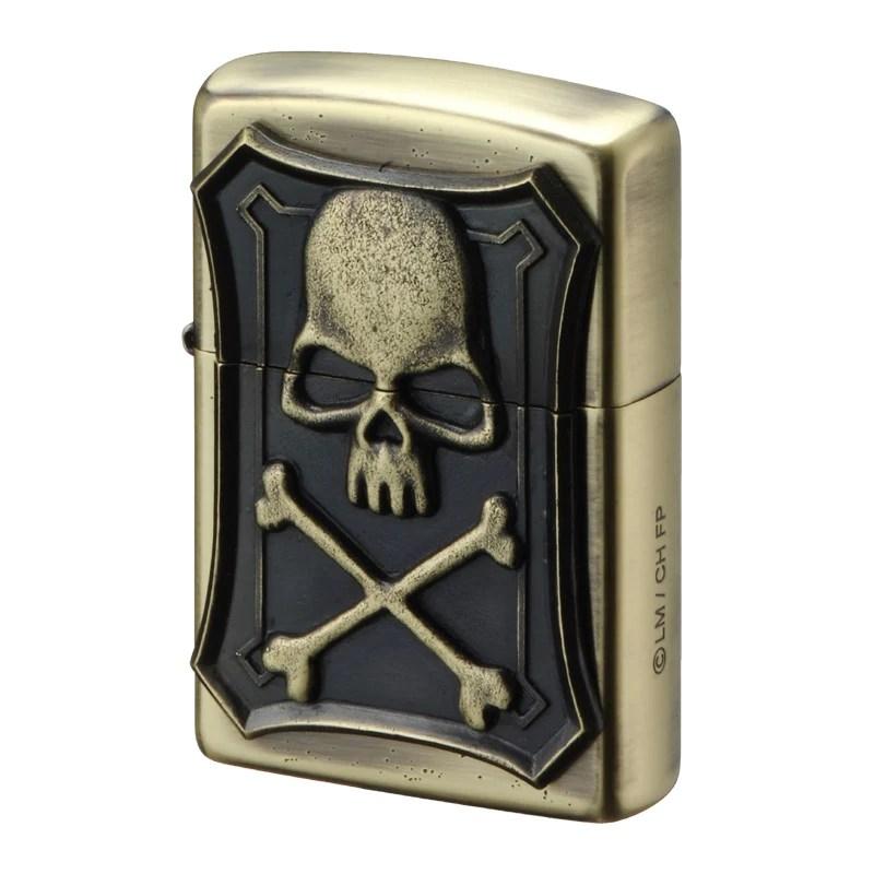 Zippo Lighter Space Pirate Captain Harlock Arcadia Belt