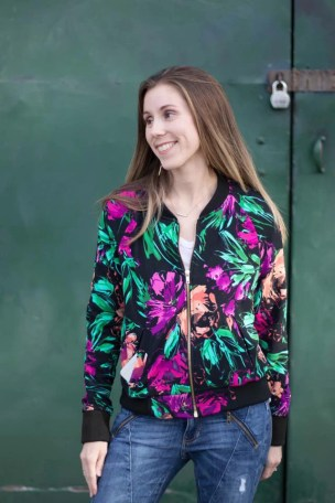 Midway Bomber Jacket - Greenstylecreations PDF sewing pattern