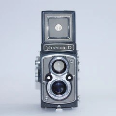 Yashica  D (GREY) 3932067 - Very Rare Model