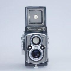 Yashica  D (GREY) 3932067 - Very Rare Model