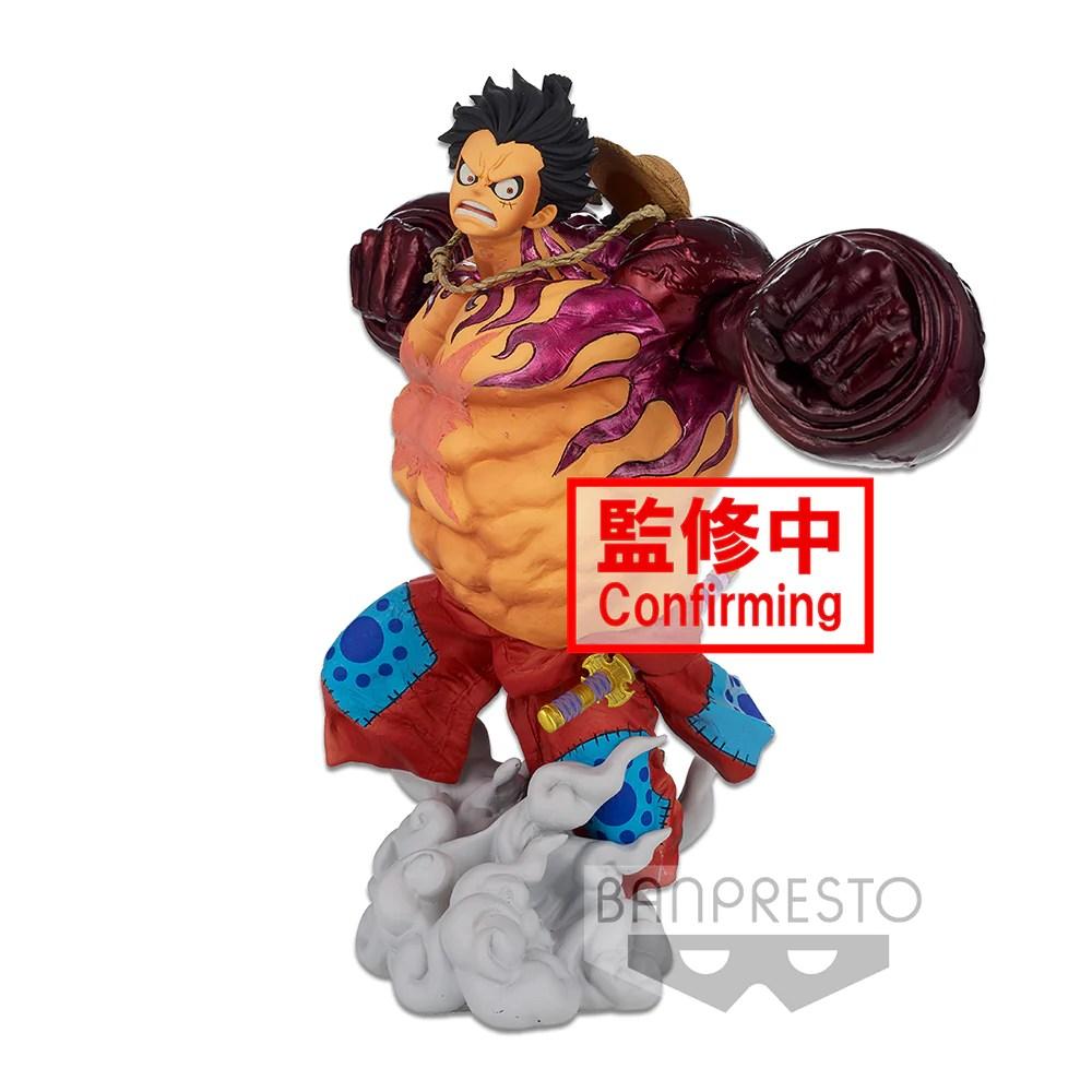 07/09/2021· one piece monkey d luffy gear 2 collections anime figurine figure statue 5.51. Banpresto One Piece World Colosseum 3 Monkey D Luffy Gear 4 Brush F