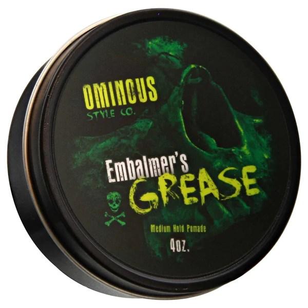 Afbeeldingsresultaat voor Ominous style co, Embalmer's grease - medium oil based pomade