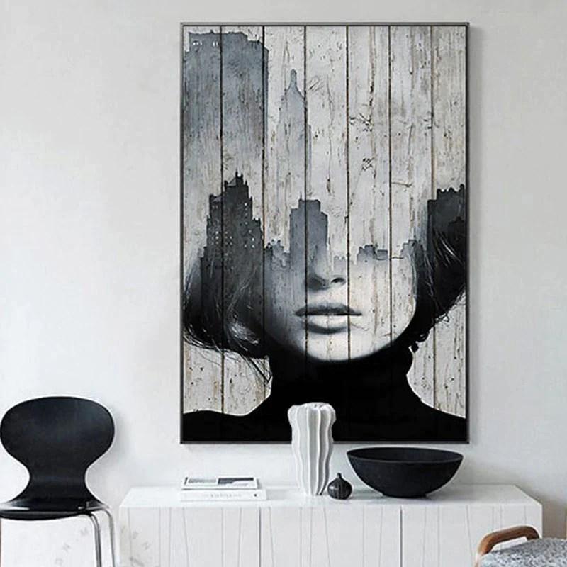abstract figure art nordic