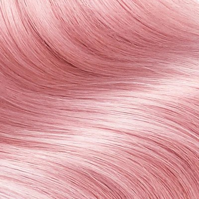 pink traditional hair weft