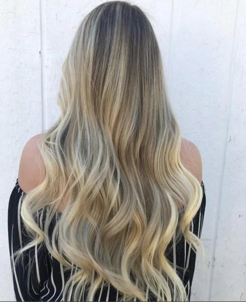 natural dark blonde with light