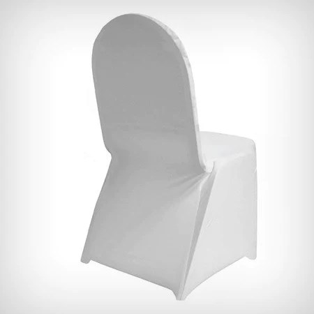 lycra chair covers nz jens design within reach cover white straight front preorder my wedding store