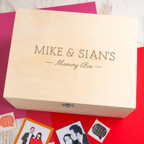 personalised keepsake boxes uk