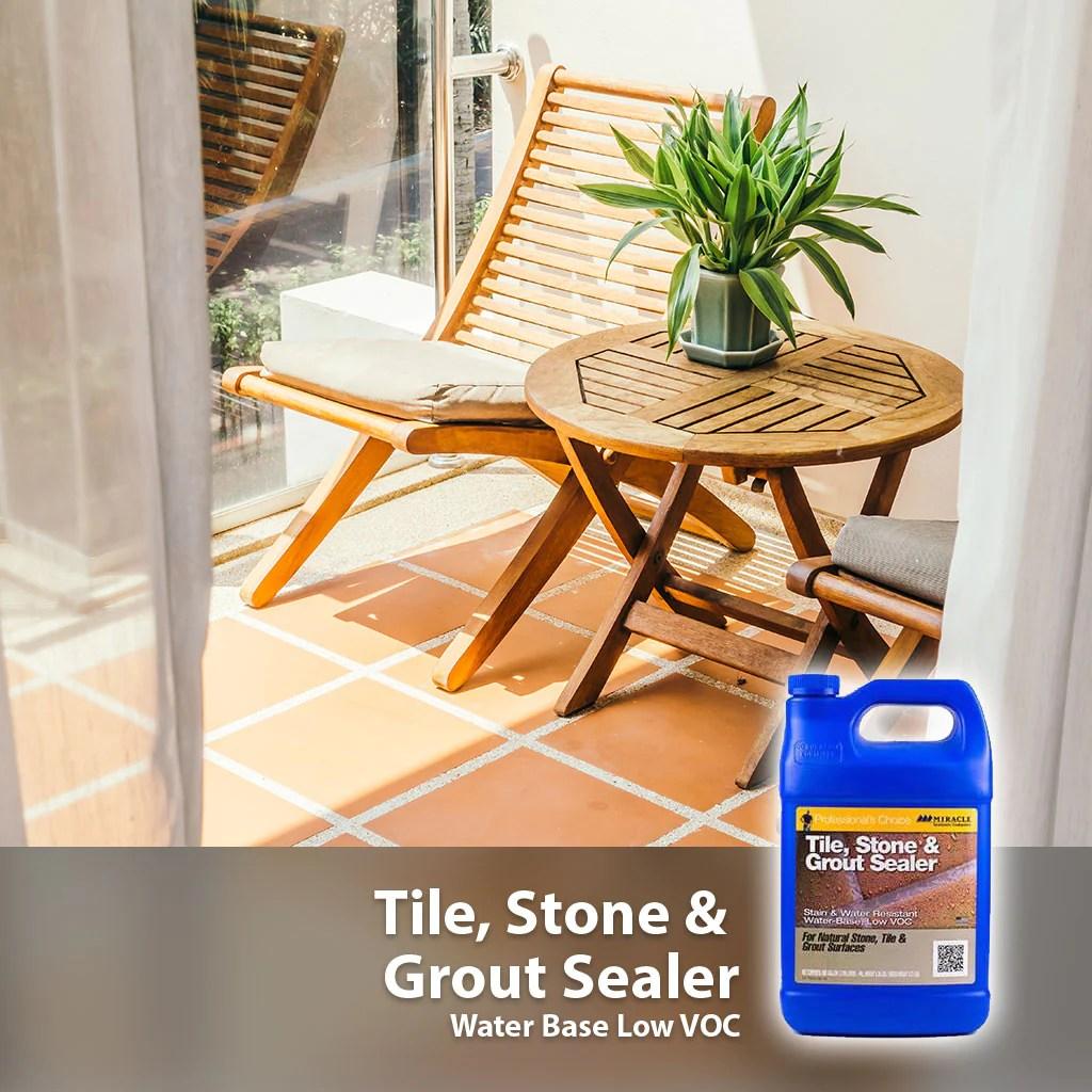 sellador economico para cantera barro y concreto base agua tile stone and grout sealer agua miracle sealants
