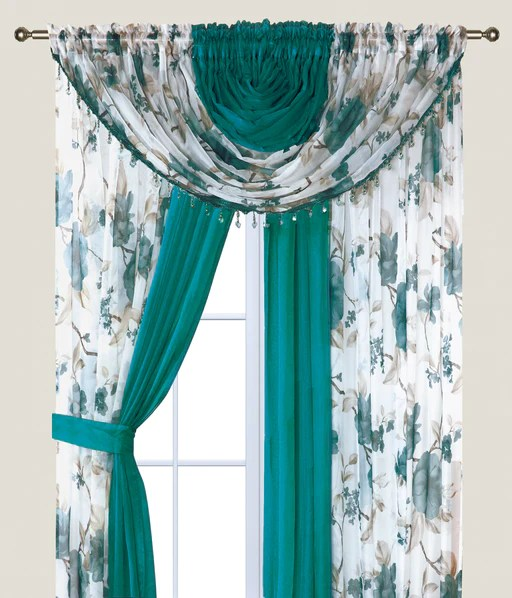 sheer curtains sapphire home goods