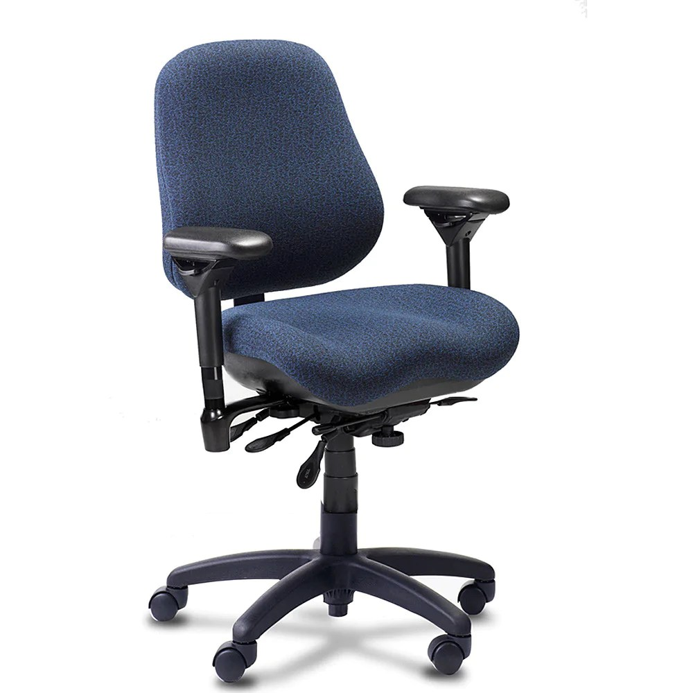 body built chairs eames style bodybilt j2507 high-back task chair — backcare basics