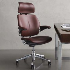 Casters For Chairs On Carpet Chair Massage San Antonio Humanscale Freedom Leather Task – Backcare Basics