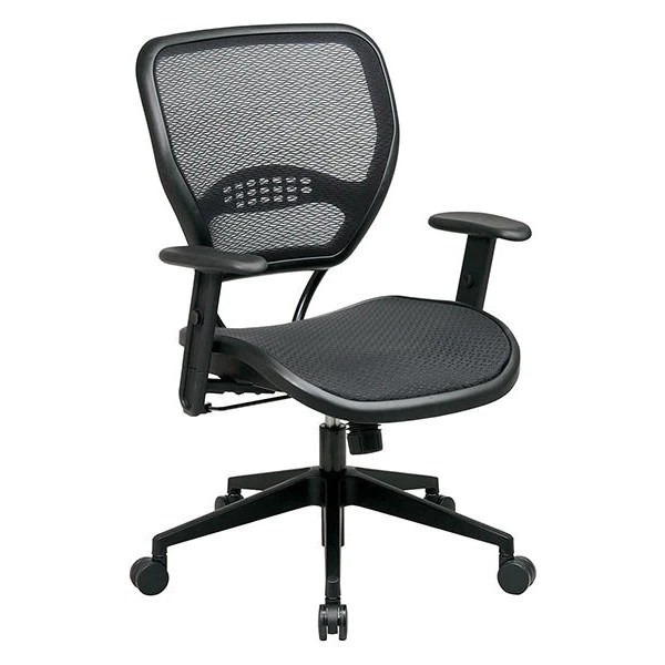 mesh task chair best power on the market 55 series all backcare basics