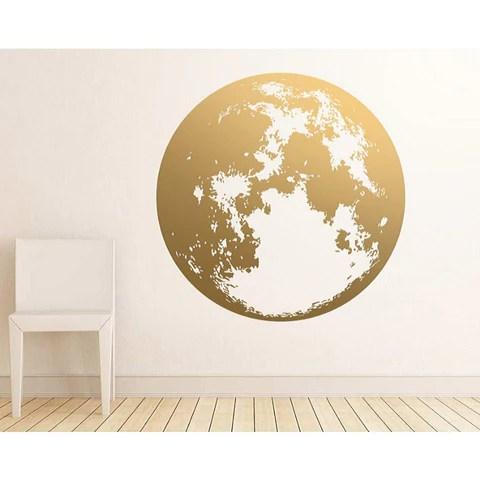 stickers carte du monde univers