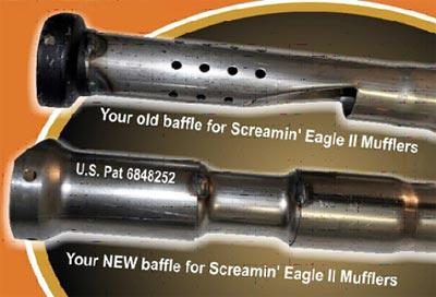 screamin eagle ii slip fit mufflers
