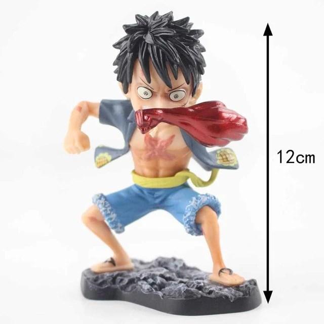Luffy (gear 4 boundman ver.2). 10cm 27cm One Piece Gear 4 Luffy Nightmare Luffy Q Edition Gear Four P Supply Epic