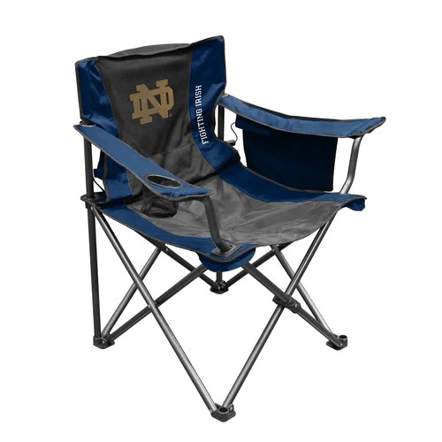 notre dame chair bouncy baby university of traveling breeze zokee