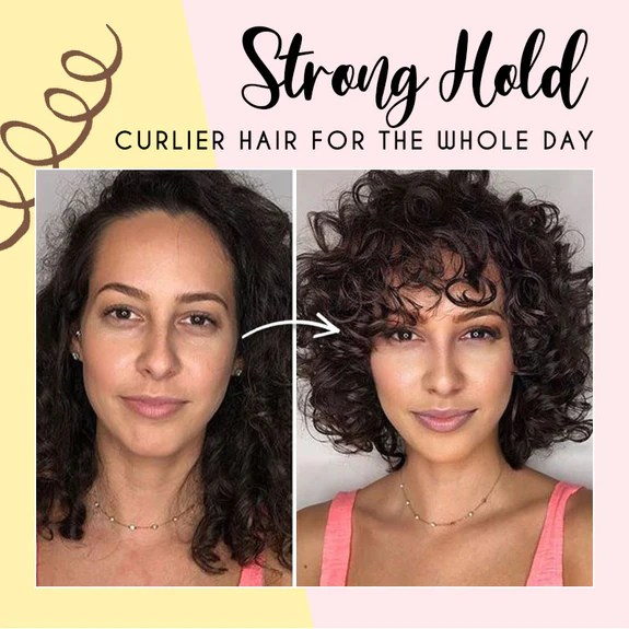 Hair Curling Spray