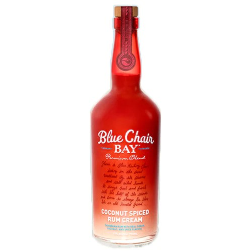 blue chair rum reading lounge bay coconut spiced cream 750ml