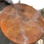 Marble Side Table Colmena Designs