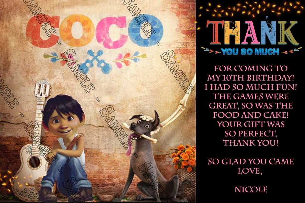 Novel Concept Designs Coco Movie Birthday Party