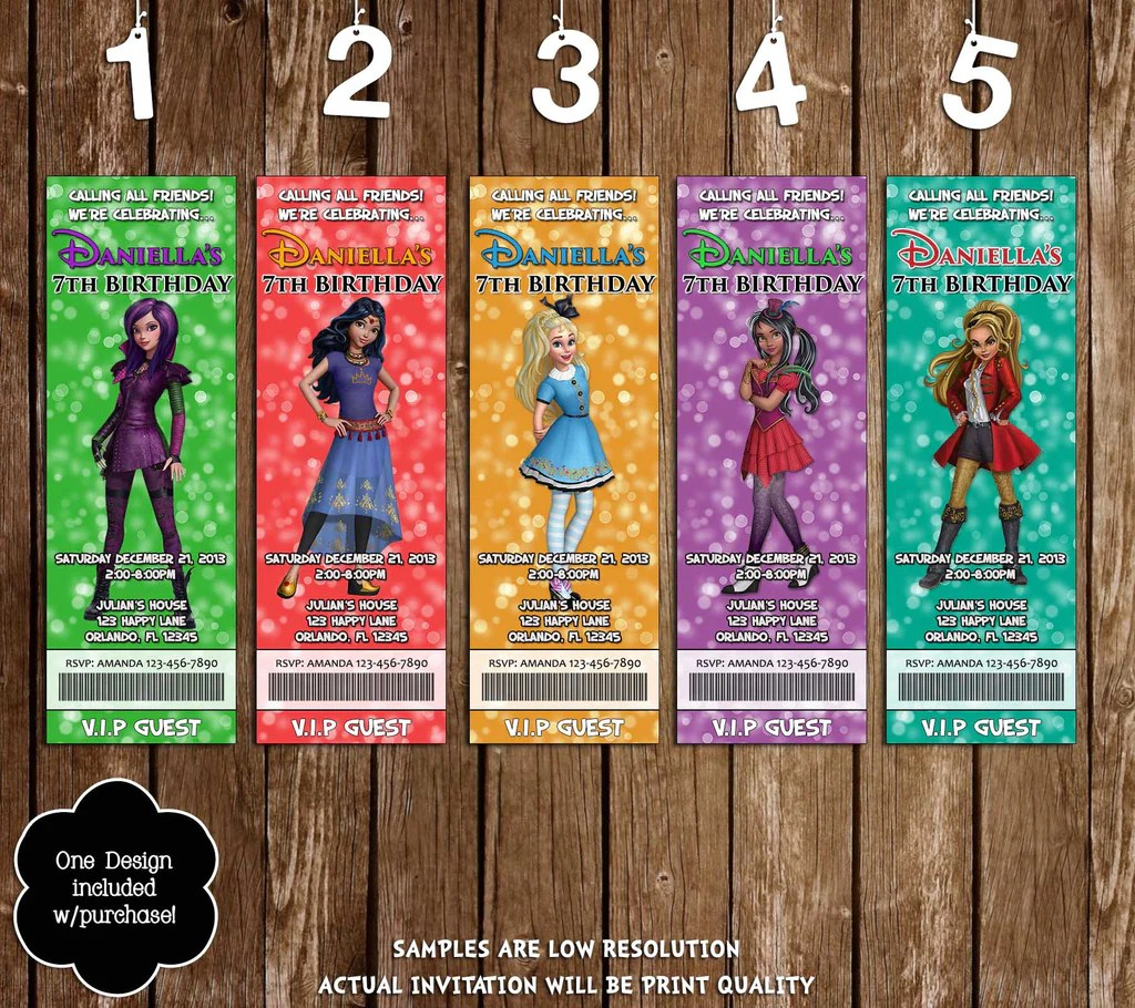 Novel Concept Designs Disney Descendants Wicked World