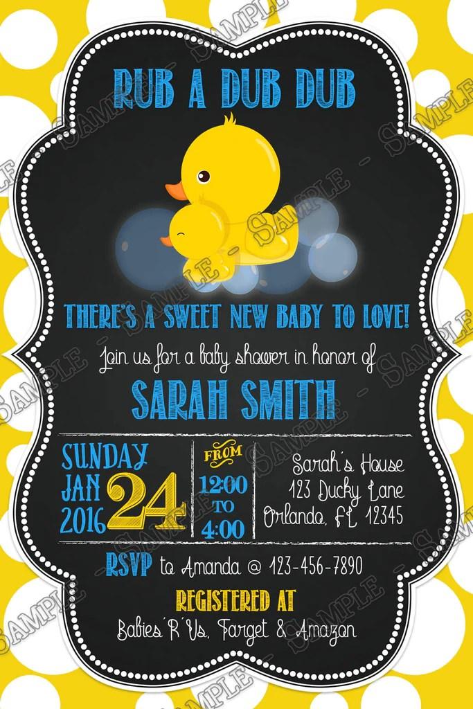 Novel Concept Designs  RubaDubDub Rubber Duck Baby