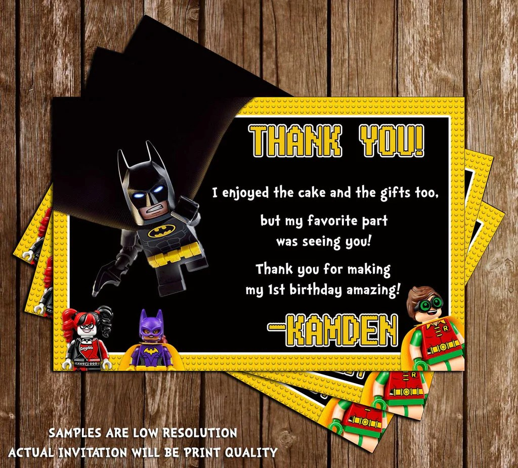 Novel Concept Designs Lego Batman Movie Birthday Party
