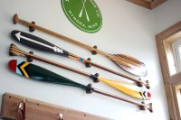 WOOD PADDLE HANGER | Sanborn Canoe Co.