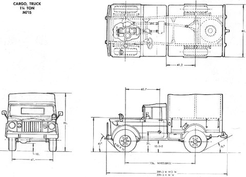 BIG MIKE'S MOTOR POOL — M715 KAISER JEEP PARTS