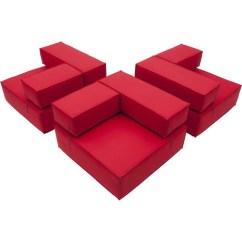 Modern Line Furniture Sofa Sleepers Cream Color Schemes Universal Modular Seating | Urban Mode