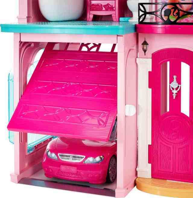 Barbie La Casa Dei Sogni Casa Delle Bambole 2017 Ffy84 Con Omaggio Mattel