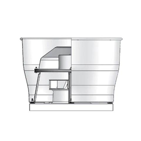 fumex upblast direct drive centrif roof fan