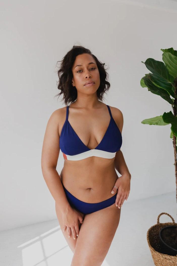 The Nerida Bikini Top and bottoms