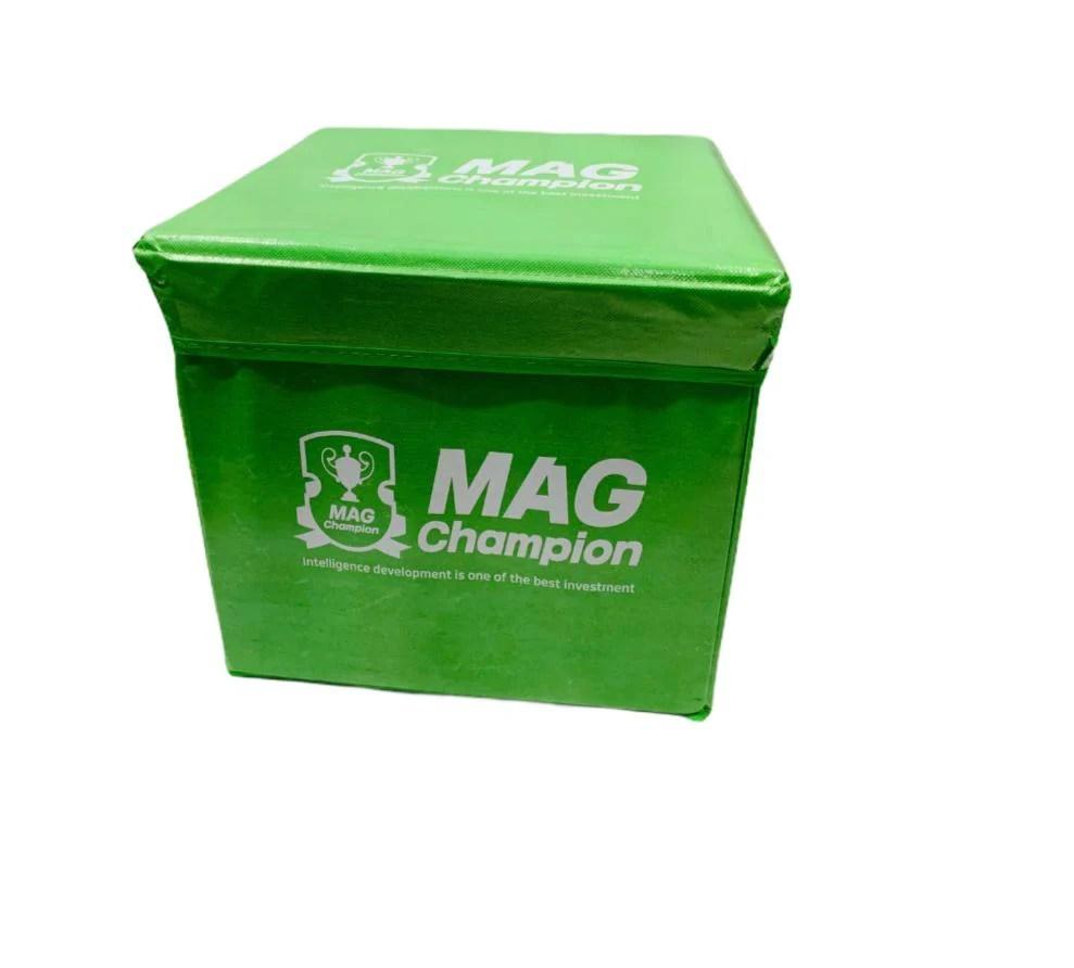 pouf de rangement pliable coffre petit meuble de rangement pou enfant