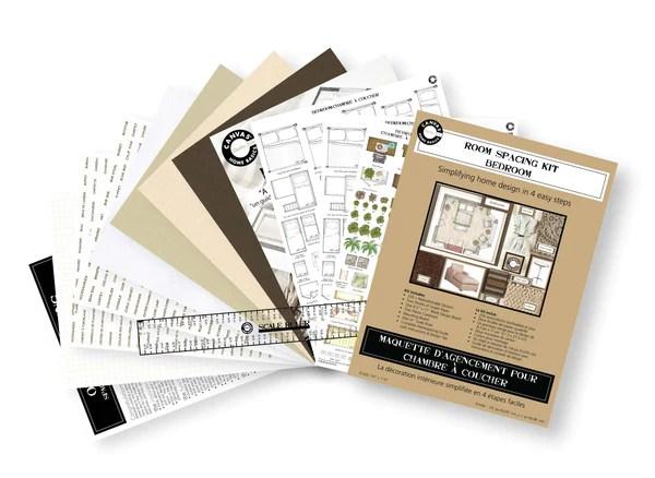 Room Planning Decorating Kit Bedroom 1320llc