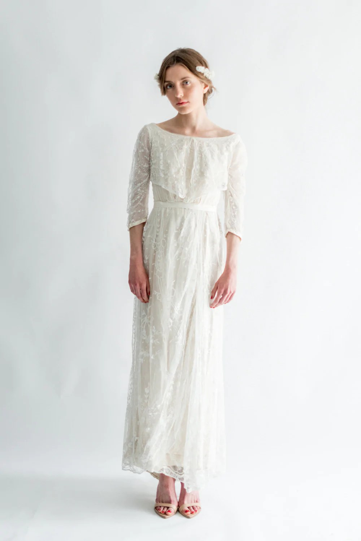 Vintage Glam Wedding Dresses