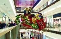 Giant Santa's Sleigh Decor Prop | Commercial Christmas ...